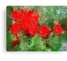 Tulip Decay Deconstructed Canvas Print