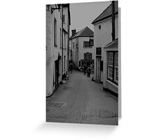 High Street Port Issac Style Greeting Card