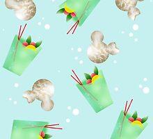 Mint Julip & Beignets | Disney Foodz by EHanesCreations