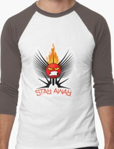 stay away  Men's Baseball ¾ T-Shirt