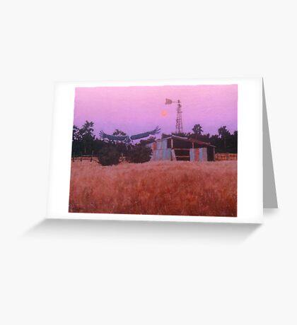Woodstock Brolga Greeting Card