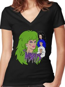 The Misfits Women's Fitted V-Neck T-Shirt