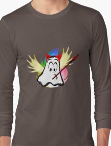 funny ghost  Long Sleeve T-Shirt