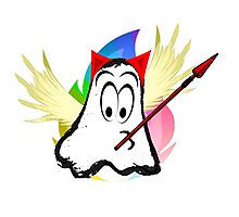 funny ghost  Photographic Print