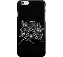 The Eye (White) iPhone Case/Skin