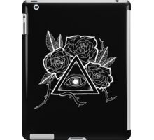 The Eye (White) iPad Case/Skin
