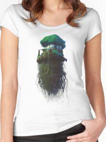 Laputa Women's Fitted Scoop T-Shirt