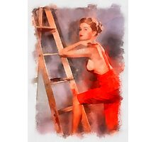 Pin Up 8 by Frank Falcon Photographic Print
