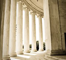Silence - Jefferson Memorial by JennyChesnick