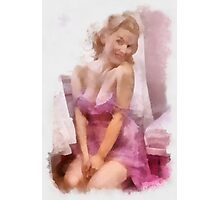 Pin Up 10 by Frank Falcon Photographic Print