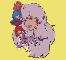 Jem and the Holograms Kids Tee