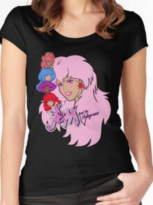 Jem and the Holograms Women's Fitted Scoop T-Shirt