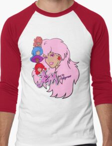 Jem and the Holograms Men's Baseball ¾ T-Shirt