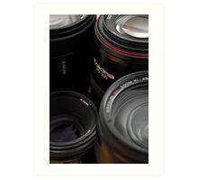 Lenses Art Print