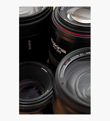 Lenses Photographic Print