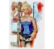 Pin Up 21 by Frank Falcon Photographic Print