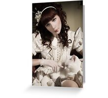 The Porcelain Doll - Porcelain Heart Greeting Card
