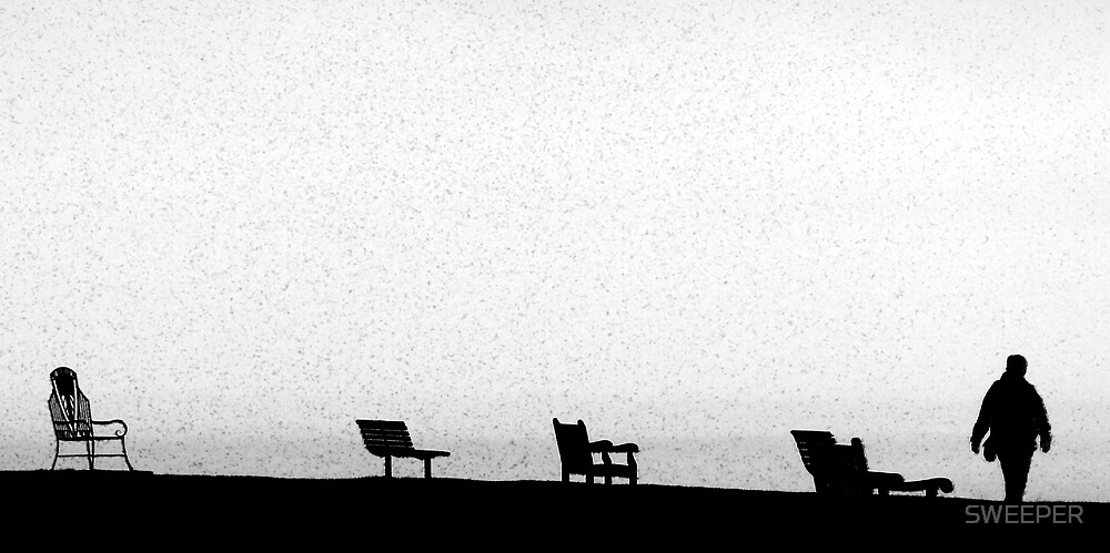 Seats at Whitby by SWEEPER