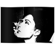 smokey self portrait Poster