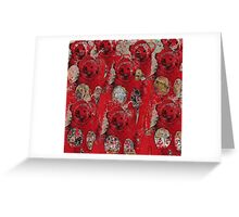 Live the Moment: Simian Versian Greeting Card