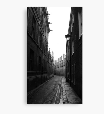 cobbled view... Canvas Print