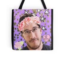 Markimoo with a flower crown Tote Bag