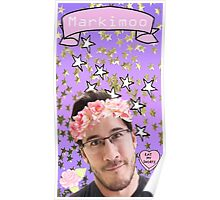 Markimoo with a flower crown Poster
