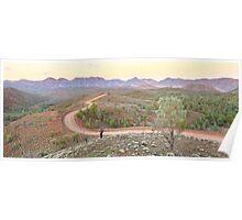Bunyeroo Valley, Flinders Ranges, South Australia Poster