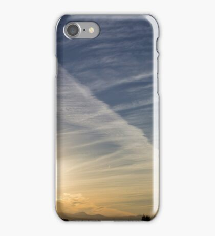 The shapes of sunset iPhone Case/Skin