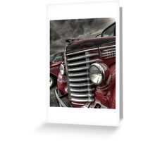 Le Grille Greeting Card