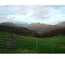 Mountains of the Lake District Photographic Print