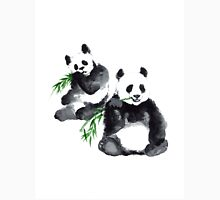 Two pandas watercolor painting Unisex T-Shirt