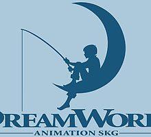 DreamWorks Logo by steffirae