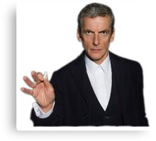 Doctor Who - Listen (Peter Capaldi) Canvas Print