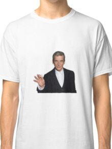 Doctor Who - Listen (Peter Capaldi) Classic T-Shirt