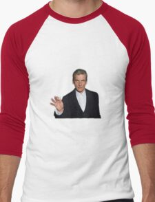 Doctor Who - Listen (Peter Capaldi) Men's Baseball ¾ T-Shirt