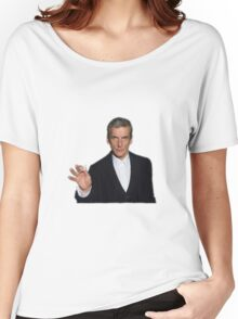 Doctor Who - Listen (Peter Capaldi) Women's Relaxed Fit T-Shirt