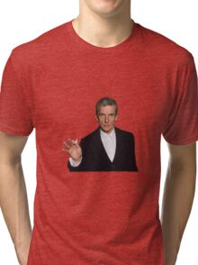 Doctor Who - Listen (Peter Capaldi) Tri-blend T-Shirt