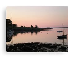 Sunset in Kinvara, Co. Galway Canvas Print