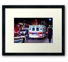 Ready to Transport Framed Print