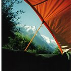 View from Tent by Louise Brookes