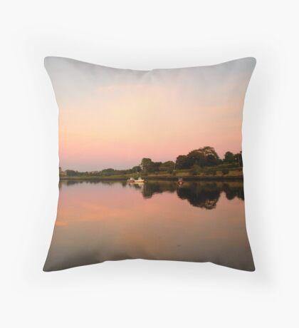 Reflections - Kinvara, Ireland Throw Pillow