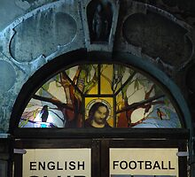 Jesus and Football by Louise Brookes