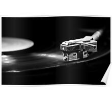 Old style turntable Poster