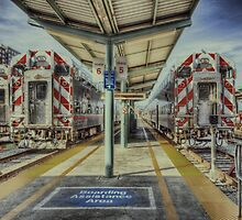 San Francisco Caltrain Station  by RichardPadilla