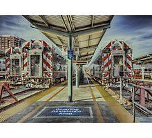San Francisco Caltrain Station  Photographic Print