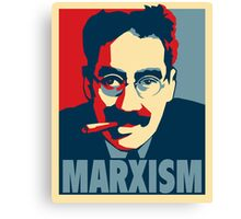 Groucho Marxism poster Canvas Print