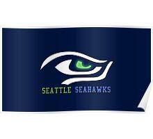 Seattle Seahawks Eye Poster