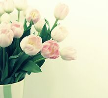 Antique Tulips by Caroline Fournier