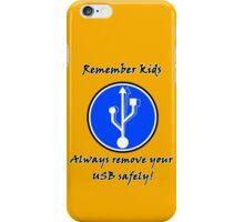 Remove USB v2 iPhone Case/Skin